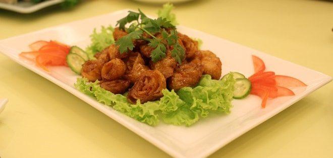 Slide thực phẩm chay tại Hà Nội