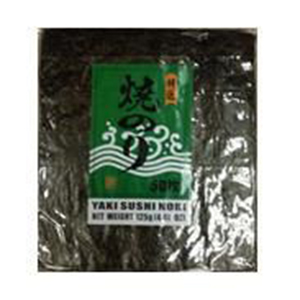 Rong biển Yaki Nori 50PCS (Nhãn xanh) cuộn sushi