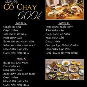 menu 600k
